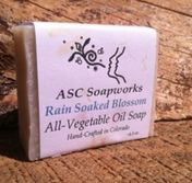 Olive Oil Soap Rain Soaked Blossom