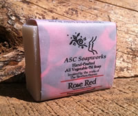 Rose Red Soap